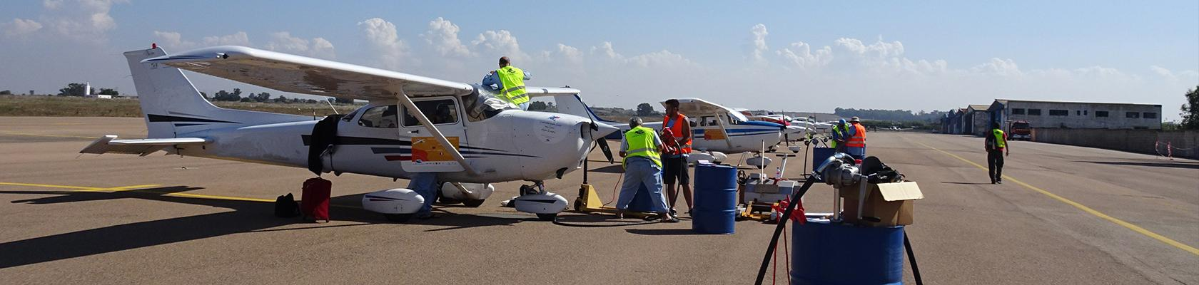 Fueling airplanes